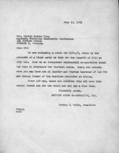 CS 671 MLK letter 1