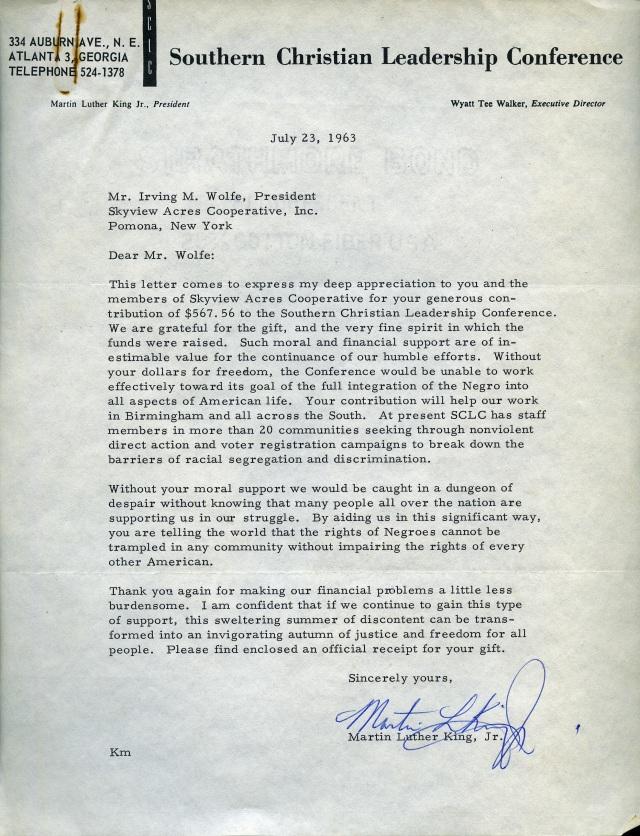 CS 671 MLK letter 2
