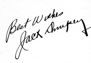 Jack Dempsey Signature