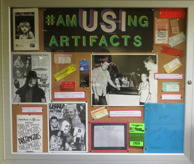 #amUSIngArtifactDisplay