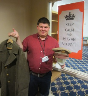 Aaron Allen - WWII Jacket and Army Hat (Dr. Marlene Shaw's Father)
