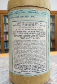 Information over Edison Wax Cylinder, n.d.