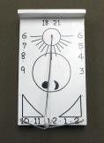 1821 Harmonist Sundial Replica