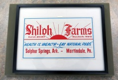 Shiloh Farms Organic Food Company Label