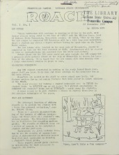 "1966 ISUE ""The Roach"" Newspaper"