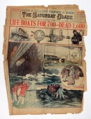 1912 Titanic Newspaper, MSS 282.
