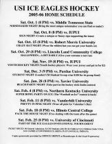 2005-2006 Season Schedule