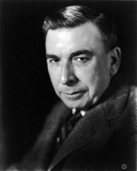 American and Hoosier native author, Booth Tarkington, head and shoulders portrait, facing left, 1922. Credit: https://en.wikipedia.org/wiki/Booth_Tarkington