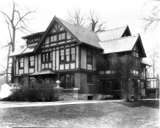 Booth Tarkington lived at 4270 North Meridian Street from 1923 until 1945. Image: Bass Photo Co. Collection, Indiana Historical Society. Source: http://historicindianapolis.com/in-the-park-tarkington-park/