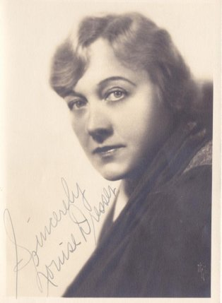 Portrait photograph of Louise Dresser, n.d. Credit: IMDb.com