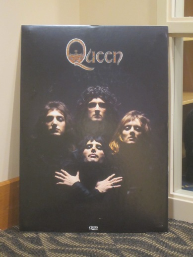 Queen poster, n.d. Source: University Archives and Special Collections, Larry Aiken Collection (MSS 217).