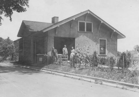 James Bethel Gresham memorial home, n.d. Source: Willard Library.