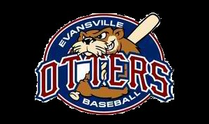 Evansville Otters baseball logo, n.d.