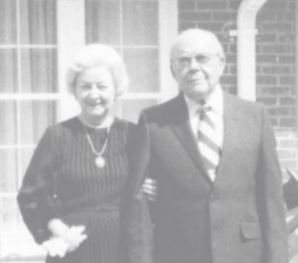 Frank F. McDonald, Sr. (right) was an early supporter of USI and former Evansville mayor, n.d. Source: Faces of Philanthropy (p. i, Vol. 1, 2008).