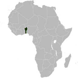 Location of Benin (located eastern side of Africa), 2011. Source: https://en.wikipedia.org/wiki/File:Location_map_of_Benin_in_Africa.svg