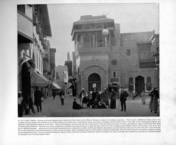 In the Cairo Street, 1898. Source: The Banner's Portfolio of Photographs.