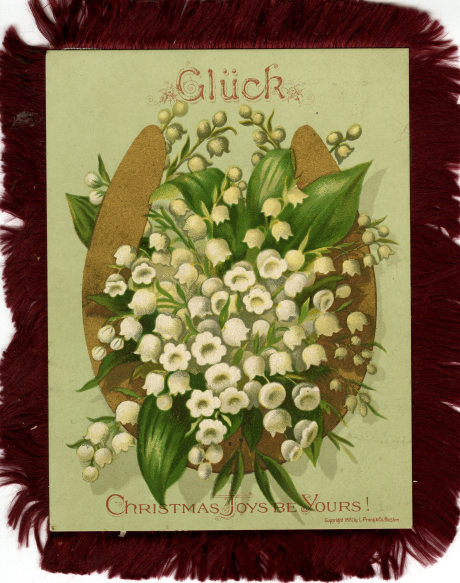 German Christmas card, n.d. Source: Postcard collection.