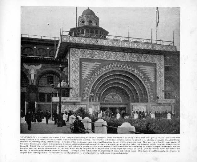 The Golden Gate Ajar, 1893. Source: The Banner's Portfolio of Photographs.