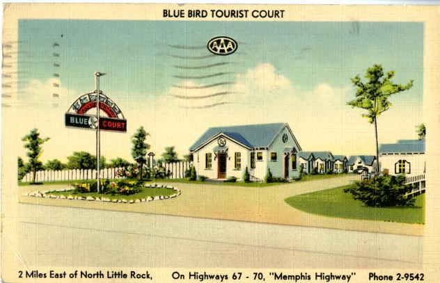 Linen Blue Bird Toursit Court