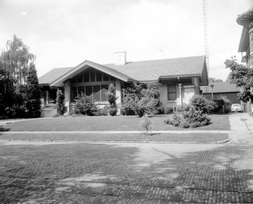 Former residence of Benjamin Bosse, 1940. Source: Gregory Smith collection, MSS 264-0970.