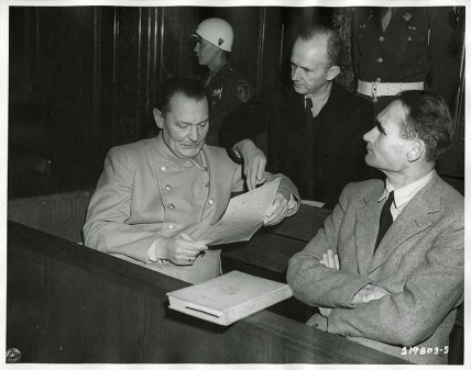 Defendants at Nuremberg