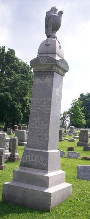 Gravesite of Elizabeth Harrison, n.d. Source: https://bit.ly/2R6uKCK