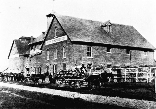 Hartmetz Brewery, n.d. Source: historicevansville.com