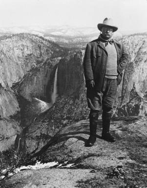 Theodore Roosevelt, n.d. Source: Unknown.