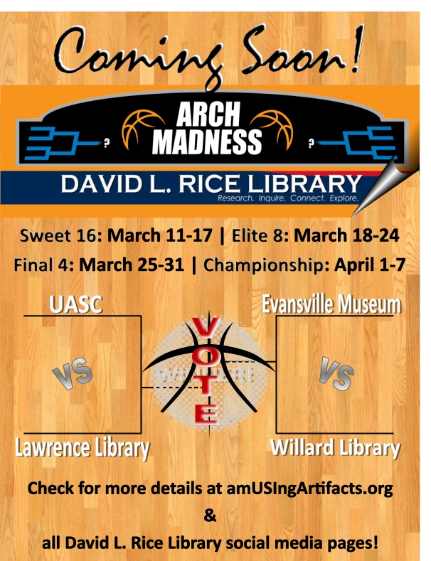 Coming soon: Arch Madness starts on March 11.