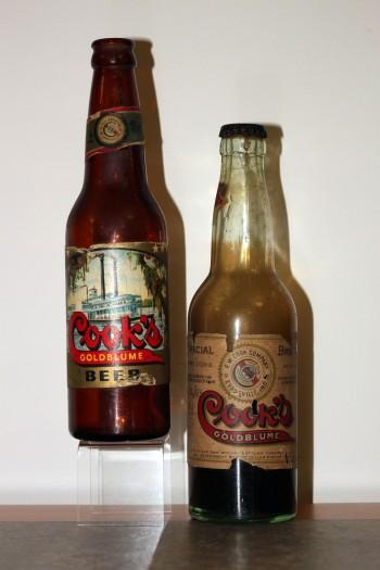 Cook Brewery Beer Bottles, n.d.