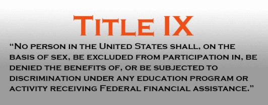 Description of Title IX.
