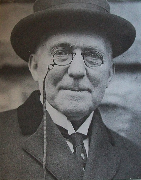 James Whitcomb Riley, 1913. Source: https://commons.wikimedia.org/wiki/File:James_Whitcomb_Riley,_1913,_Cincinnati.jpg