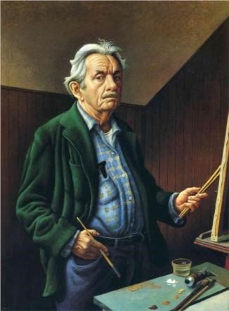 1. Self-Portrait of Thomas Hart Benton