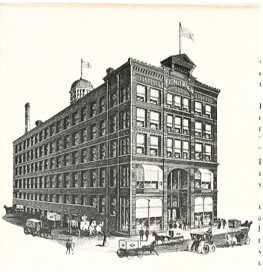 Sketch of the old Fendrich Cigar Factory, n.d. Source: https://bit.ly/2NYY1hH
