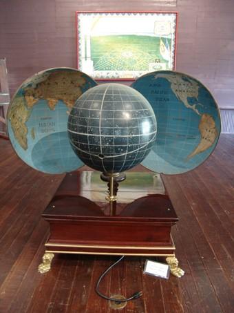 3. Globe Inside Globe
