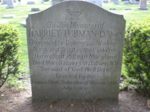 3. Grave of Harriet Tubman