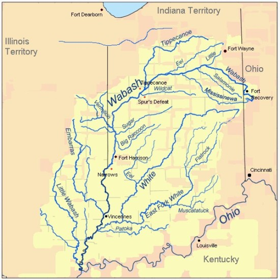 3. Indiana Map