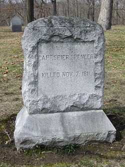 Grave headstone of Captain Spier Spencer, n.d. Source: https://bit.ly/2XIolw1