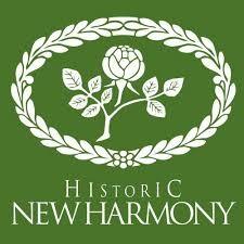 Historic New Harmony Logo, n.d.