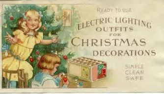 Electric Lighting Outfits for Christmas. Source: https://tinyurl.com/ukjrsl5