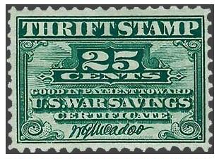 2. War Thrift Stamp (1918)