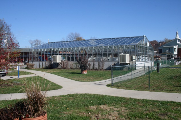 Berea College EcoVillage wastewater treatment, 2009. Source: Donald Janzen collection (CS 662-200dc-0004).