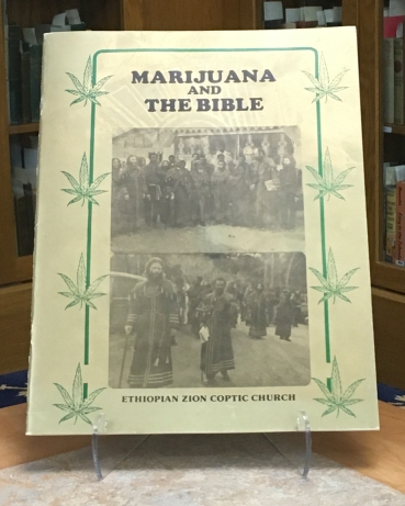 Marijuana and the Bible Pamphlet, n.d.
