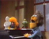 Frustrated musician and unfortunately, head-banger, Don Music, n.d. Source: https://muppet.fandom.com/wiki/Sesame_Street