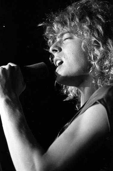 Leif Garrett performing at Roberts Stadium on August 1, 1979. Source: Greg Smith Collection at University of Southern Indiana (MSS 034-3211).