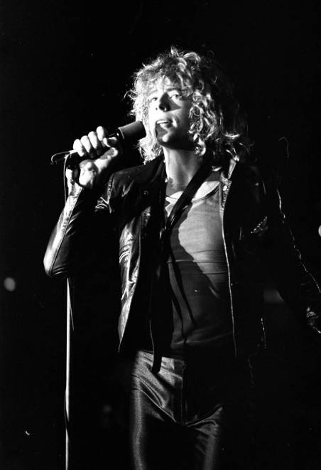 Leif Garrett performing at Roberts Stadium on August 1, 1979. Source: Greg Smith Collection at University of Southern Indiana (MSS 034-3216).