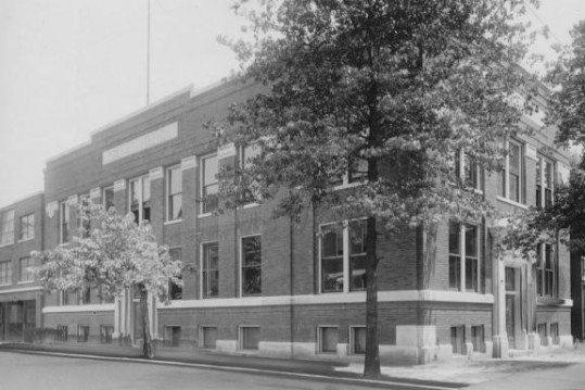 "This 1916 image of the ""new, old"" police station is from the private collection of noted Evansville cartoonist Karl Kae Knecht. Source: Willard Library."