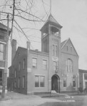 """This 1906 image by F. A. Muntzer of the """"old"""" police station is from the private collection of noted Evansville cartoonist Karl Kae Knecht. Source: Willard Library."""