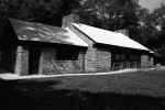 This 1936 shelter house at Mesker Park was apparently built by two African-American CCC companies--one comprised of World War I veterans and the other, youth. Source: https://livingnewdeal.org/projects/mesker-park-shelter-house-evansville-in/