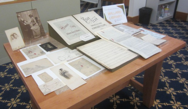 Personal papers of Albion Fellows Bacon from Willard Library.